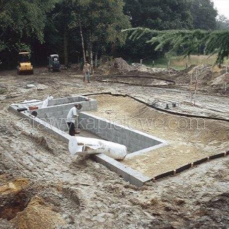Etapy budowy stawu kąpielowego